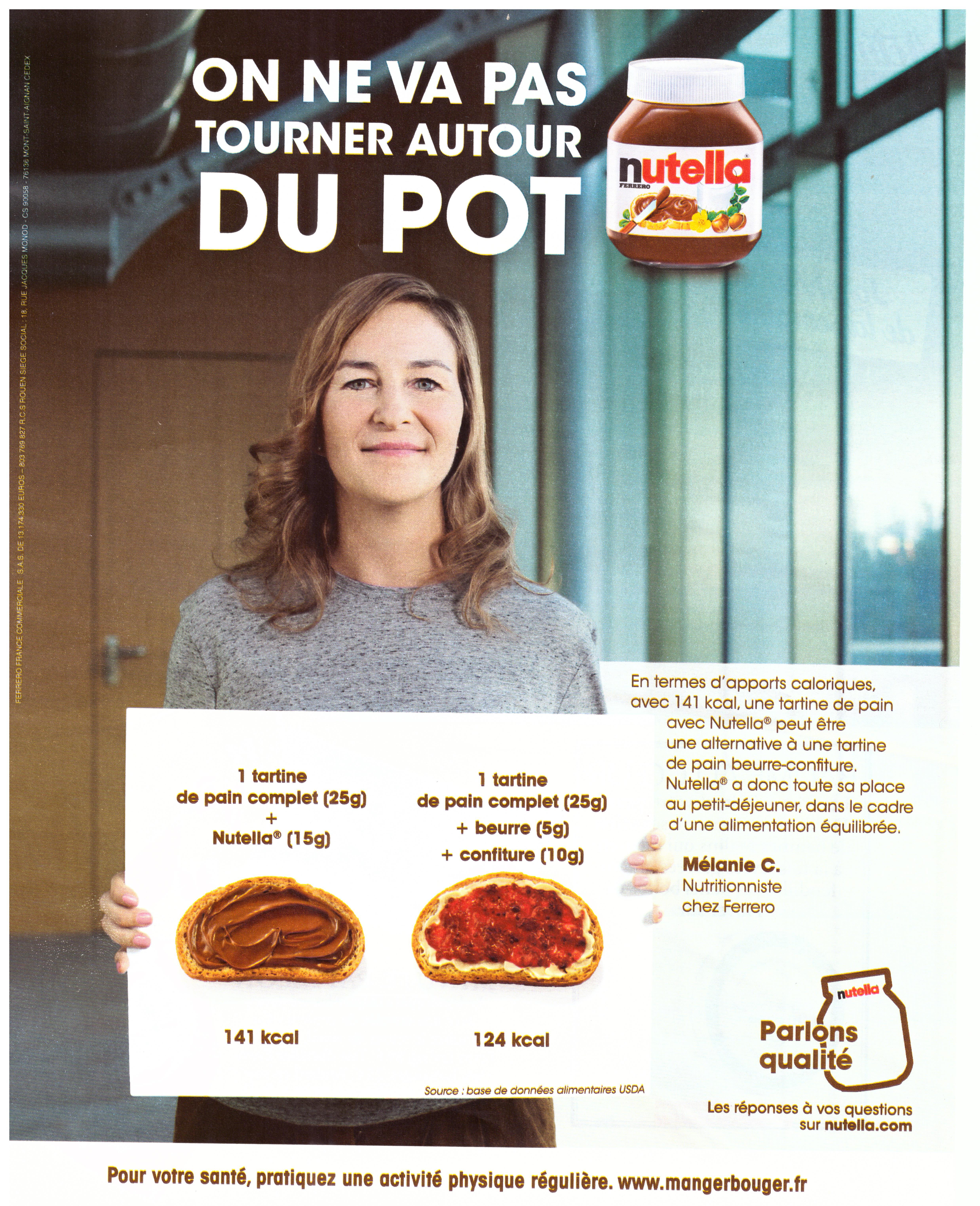 HALL OF SHAME: MISLEADING NUTELLA ADVERTISING   THE VIBRANT
